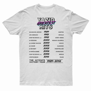"T-Shirt ""Zidane Greatest Hits"" blanc"