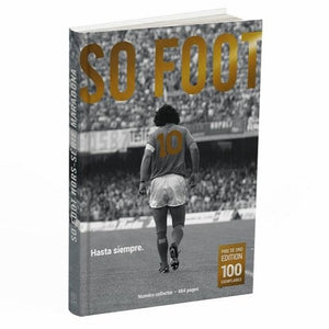"SO FOOT 100% MARADONA, édition ""Pibe de Oro"""