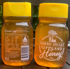 100% Raw and Unfiltered Gippsland Honey 400g
