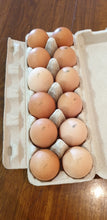 Load image into Gallery viewer, 12 Free Range Eggs Carton 750 - 850g