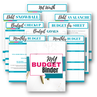 Deluxe Printable Budget Binder Bundle