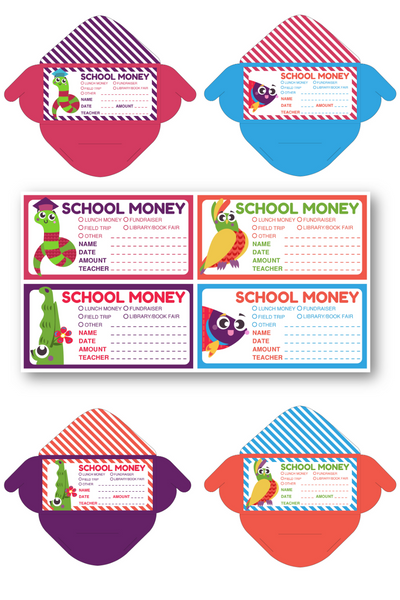 School Money Envelope Bundle