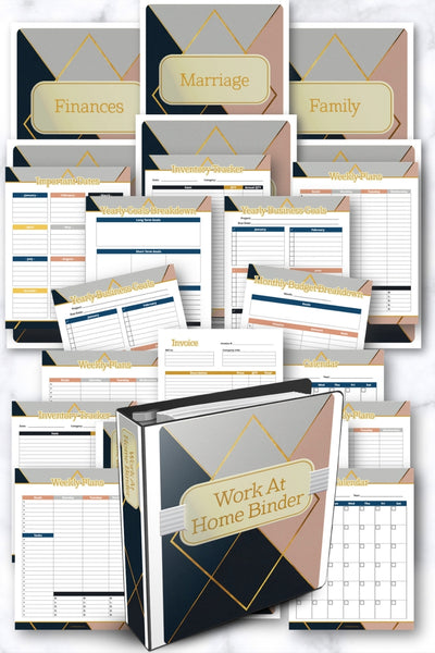 Work From Home Binder {316 Pages}