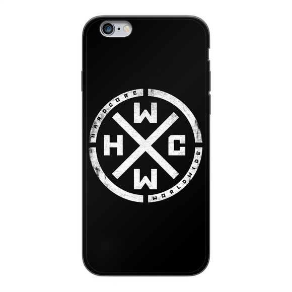 HCWW Back Printed Black Soft Phone Case