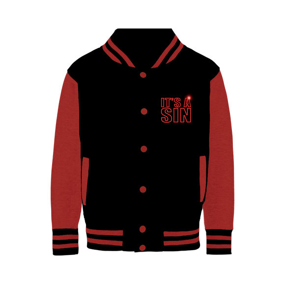 IT'S A SIN - Official Baseball Jacket - From UK
