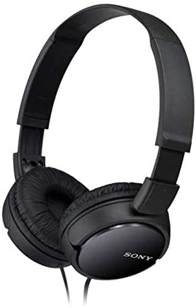 Sony MDRZX110B.AE Lightweight Foldable On-Ear Headphones