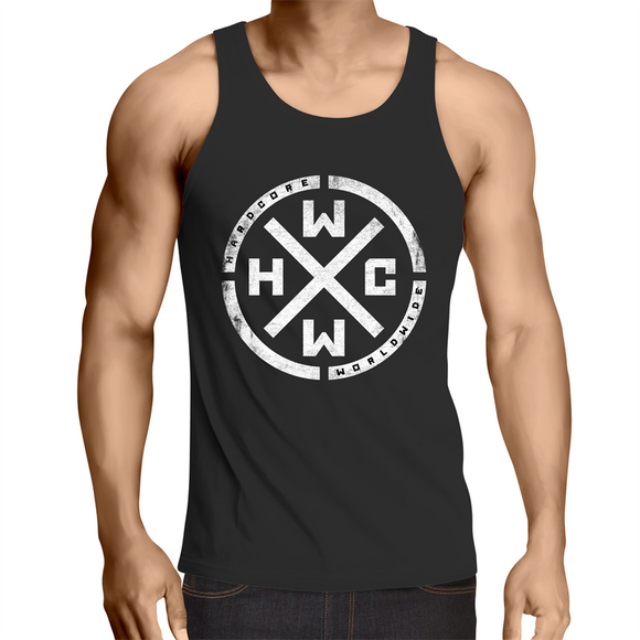HARDCORE WORLDWIDE - TANK - OFFICIAL MERCHANDISE - AUSTRALIA ONLY