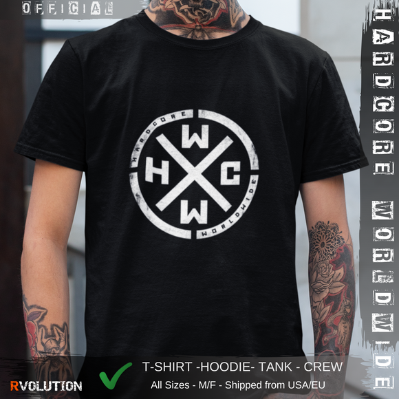 HARDCORE WORLDWIDE T-Shirt - Official Merchandise HC1
