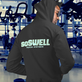 soSWELL - Pocket Hoodie Sweatshirt - Back Logo  Made In Australia