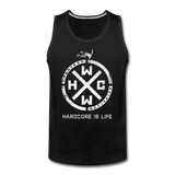 HARDCORE IS LIFE OFFICIAL MERCHANDISE Tank - black