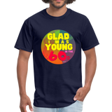 Glad I was Young In The 60s - Unisex Classic T-Shirt - navy