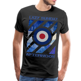 1960's Mod Lazy Sunday T-Shirt - black