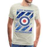 1960's Mod Lazy Sunday T-Shirt - heather oatmeal