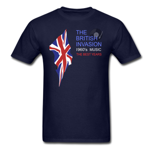 THE BRITISH INVASION -1960s Music -The Best Years UNISEX CLASSIC T-SHIRT