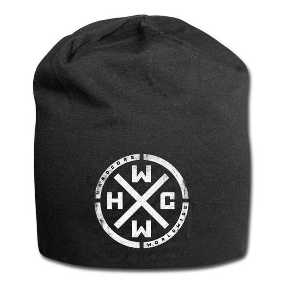 HARDCORE WORLDWIDE-Official Black Beanie - Exclusive! - black