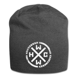 HARDCORE WORLDWIDE-Official Black Beanie - Exclusive! - charcoal gray