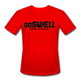 soSWELL -Men's Moisture Wicking Performance T-Shirt - red