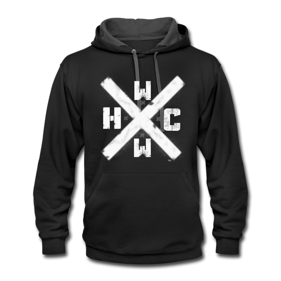 HCWW - HARDCORE WORLDWIDE-Official Black Hoodie - black/asphalt