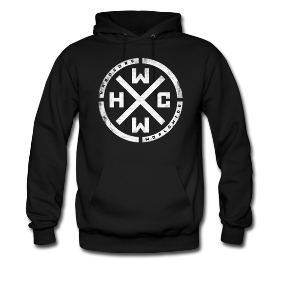 HCWW HARDCORE WORLDWIDE-Official Hoodie - All Sizes! - black