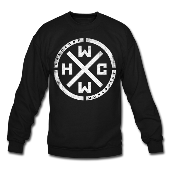 Hardcore Worldwide Crewneck Sweatshirt - Official Merchandise - black