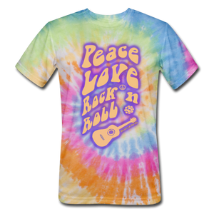 Spirit Of The 60s - Unisex Tie Dye T-Shirt