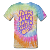Spirit Of The 60s - Unisex Tie Dye T-Shirt - rainbow