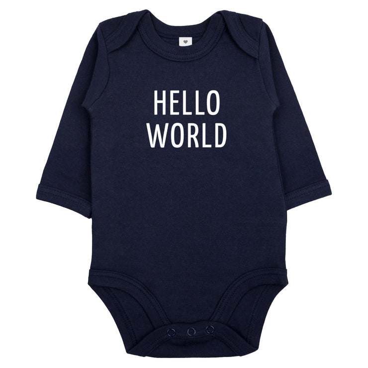 Bio Babyset HELLO WORLD / 2-teilig