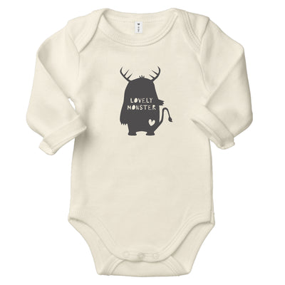Baby Body Lovely Monster - Natur