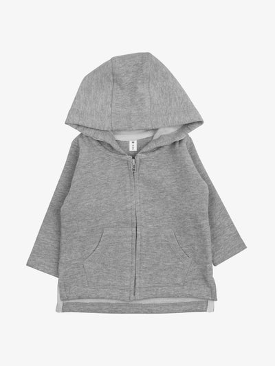 Fair Trade Babyjacke in Grau/Melange - Babylotta
