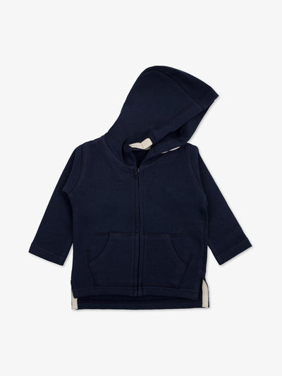 Fair Trade Babyjacke in Marine - babylotta