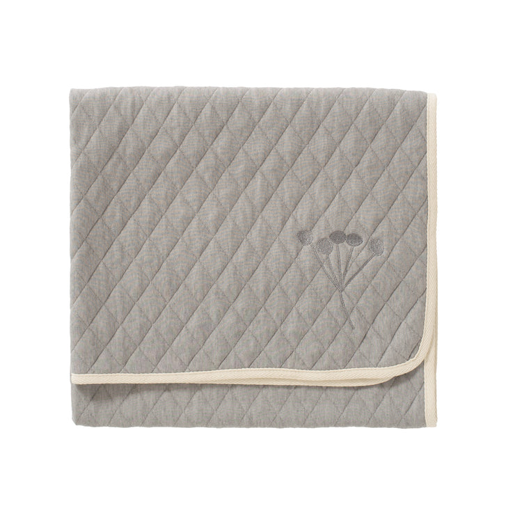 Nordic Bio Kuscheldecke in Gull Grey