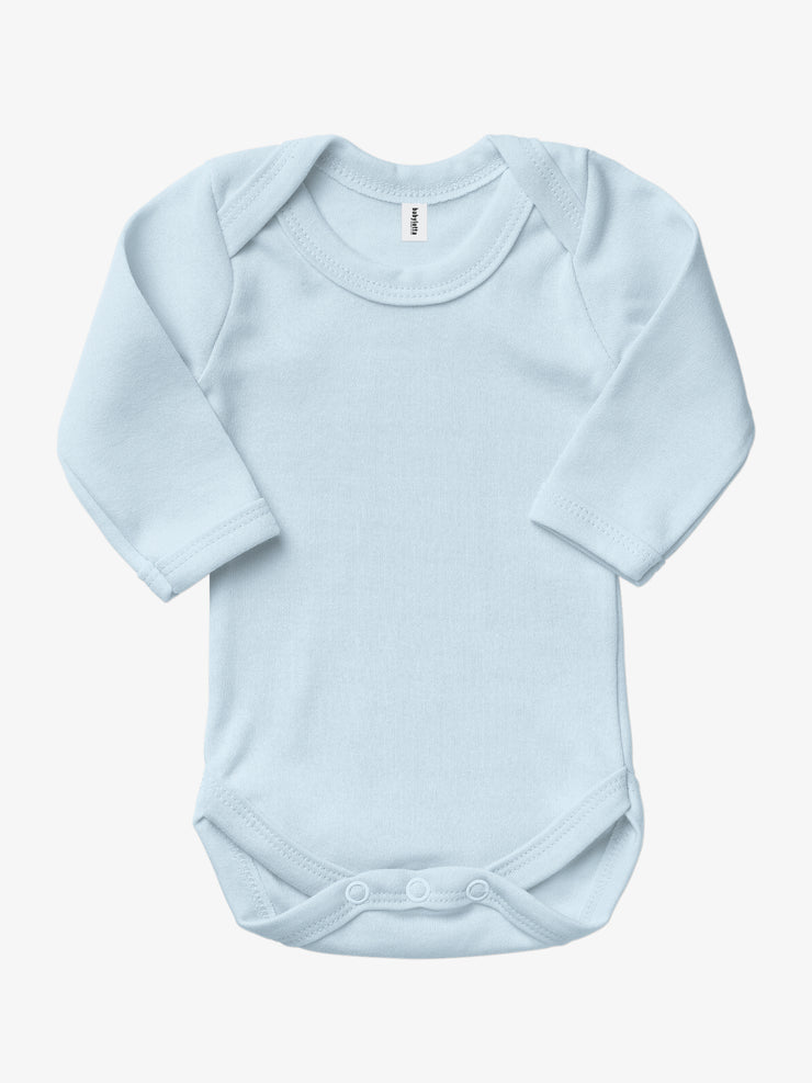 Bio & Fair-Trade Baby-Body - Hellblau von Babylotta