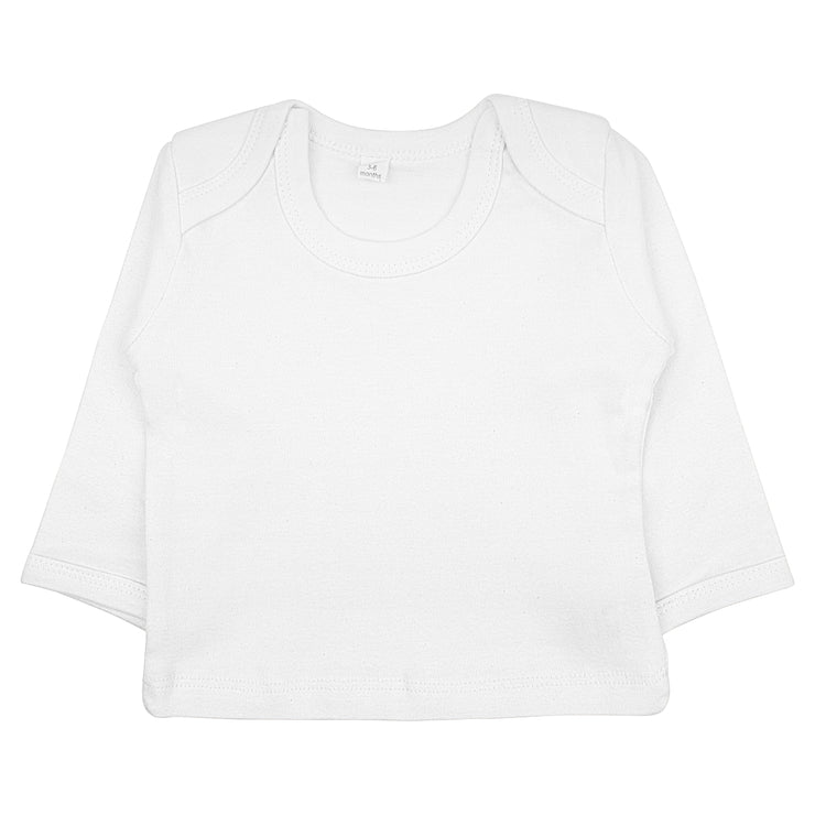 Babylotta Bio & Fair Trade Babyshirt in Weiss