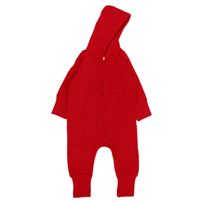Fair Trade Babyoverall in Rot von Babylotta