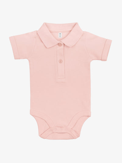 Bio & Fair Trade Polo-Babybody in Rosa