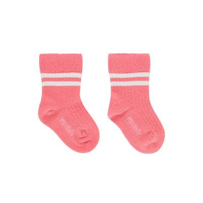 Bio-Babysocken in Rosa von Imps and Elfs