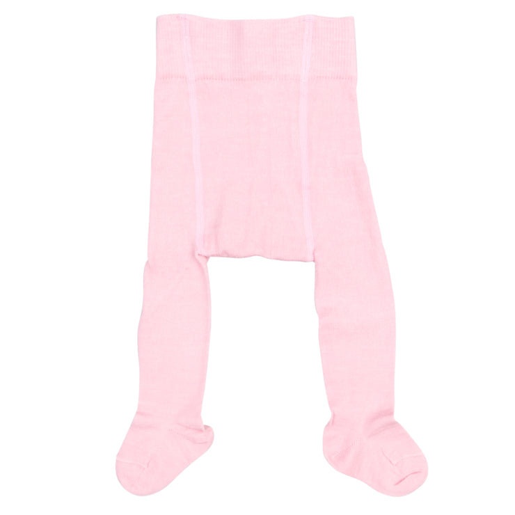 Bio Baby Strumpfhose Wolle/Baumwolle in Rosa