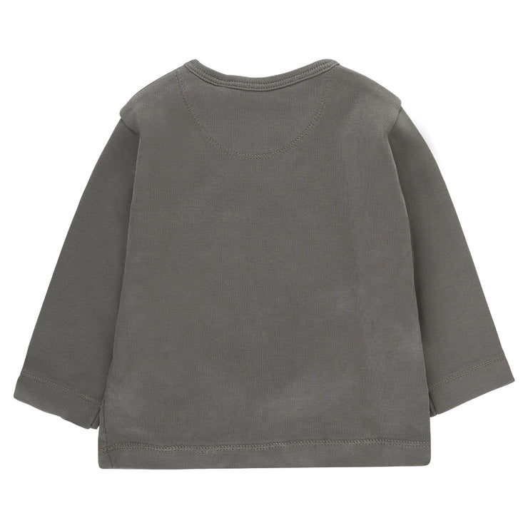 Baby Wickelshirt in Grau