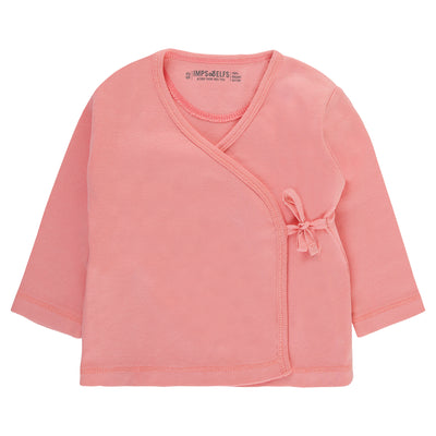 Baby Wickelshirt in Rosa