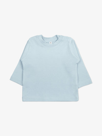 Fair Trade Babyshirt in Hellblau