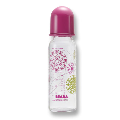 Babyflasche Trendy in Lila 250 ml