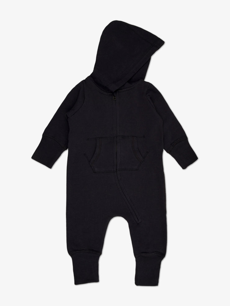 Fair Trade Babyoverall in Schwarz