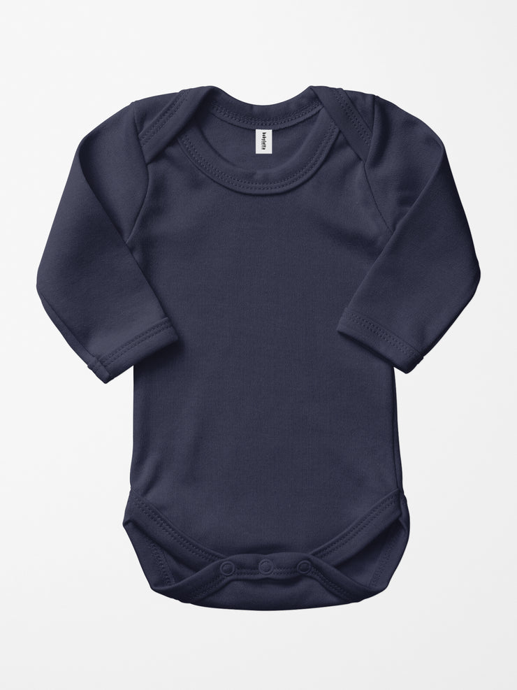 Bio & Fair-Trade Baby-Body in Marine/Blau