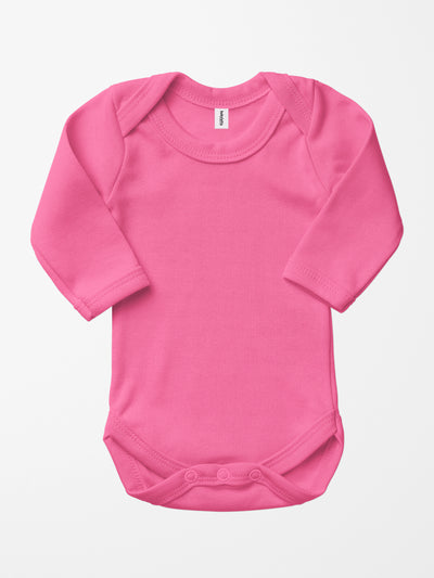 Bio & Fair-Trade Baby-Body in Pink