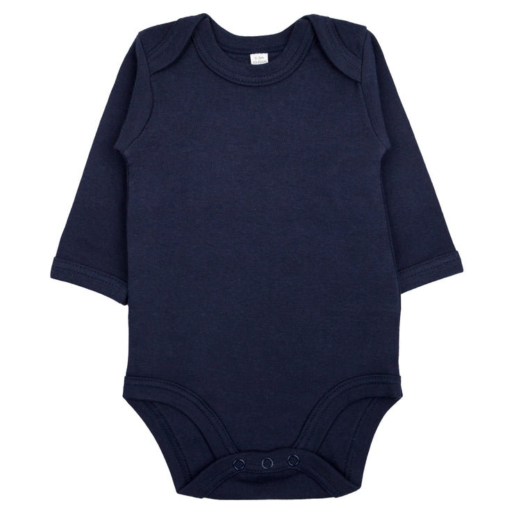 Bio & Fair-Trade Baby-Body in Marine/Blau von Babylotta