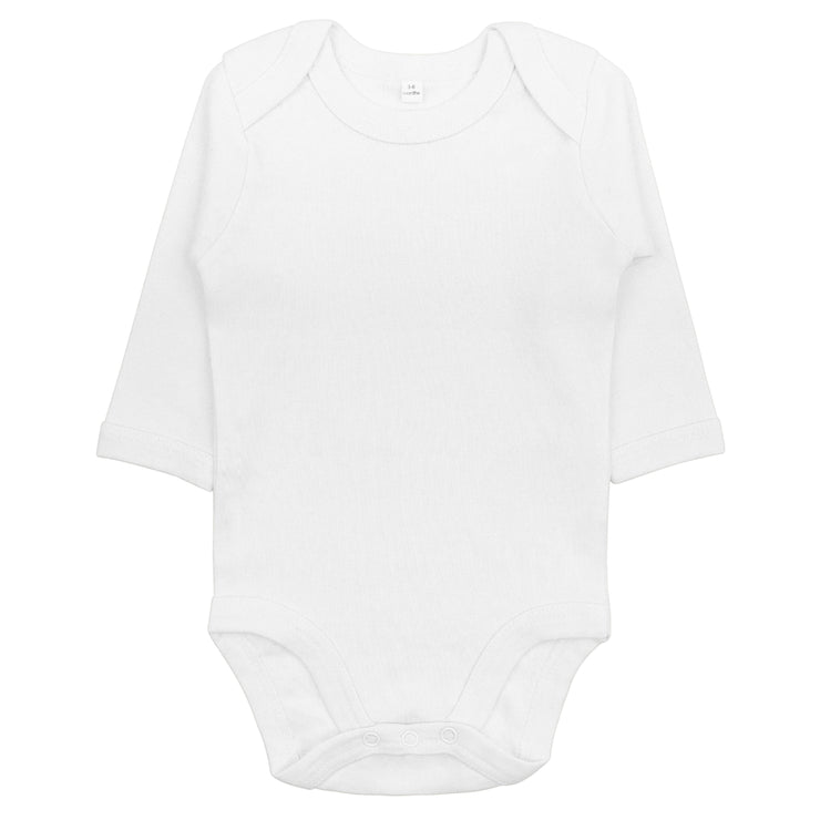 Bio & Fair-Trade Baby-Body in Weiss von Babylotta