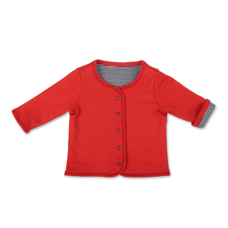 Bio-Babyjacke in Rot von Loud+Proud