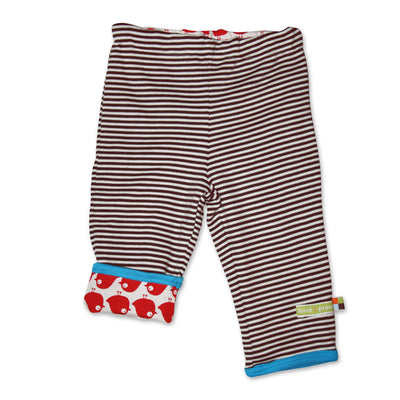 Bio Baby Wendehose in Chocolat