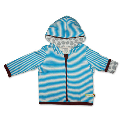 Bio Baby-Wendejacke in Blau von Loud and Proud