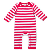 Fair Trade Strampler in Rot von Babylotta